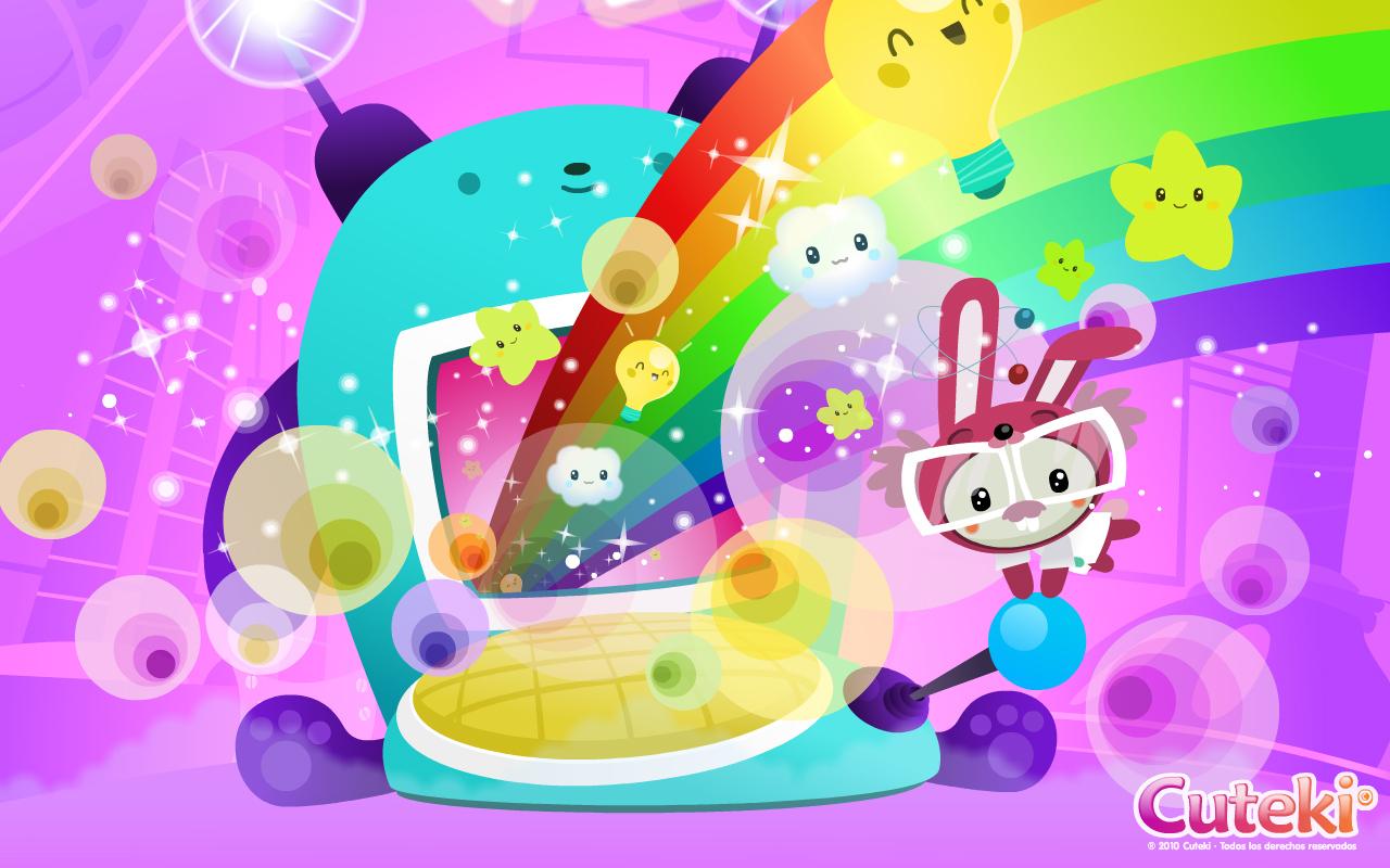 Cuteki Wallpaper: Rainbow